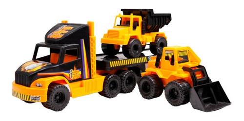 camion duravit constructor 3 gigante con volcador y pala