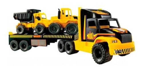 camion duravit constructor 3 incluye 3 vehículos excavadora