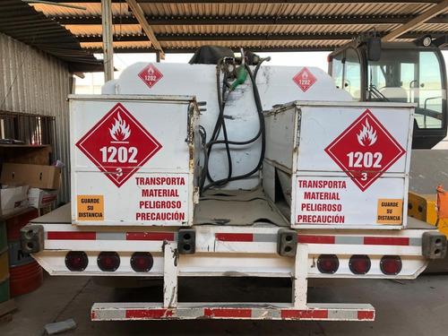 camion equipado para suministro de diesel