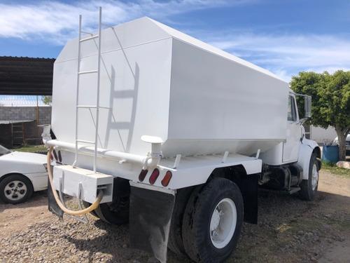 camion famsa international mod 1981 con pipa de agua