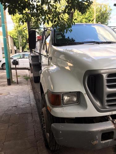 camión ford 14000 modelo 2000 -con portavolquete