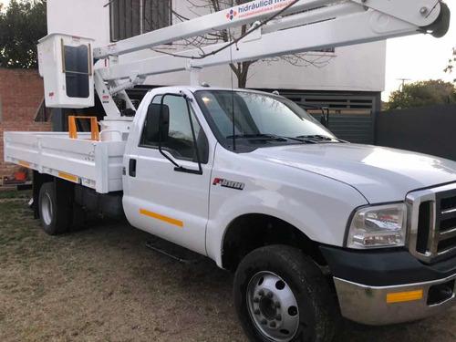 camion ford 4000 con hidroelevador (equipo okm)