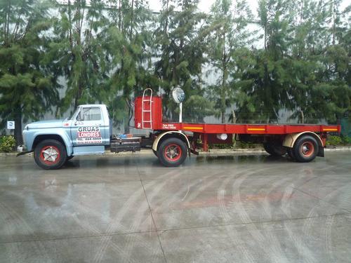 camion ford 7000 modelo 1978 + semiremolque montenegro 8mts