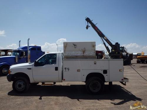 camion ford con grua articulada marca imt de 5,000 libras