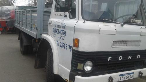 camion ford con volcadora