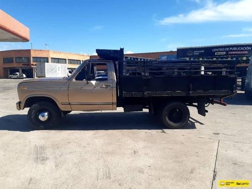camion ford f-350 plataforma con baranda ferretera