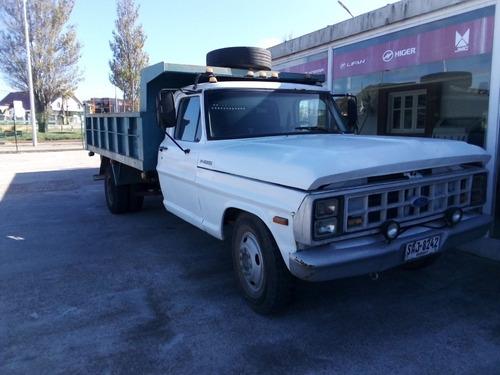 camion ford f 4000 con volcadora - grupoaler.