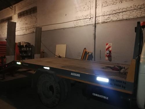 camion ford f600 con plancha fija