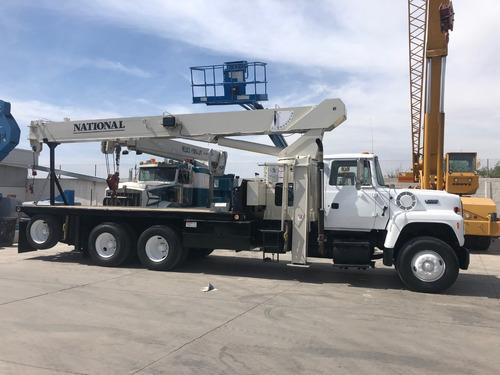 camion ford mod 1994 con grua titan national de 23 toneladas