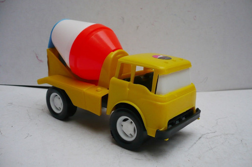 camion ford revolvedora - camioncito de juguete escala