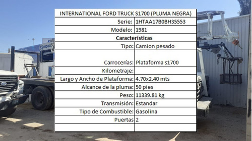 camion ford truck f-600