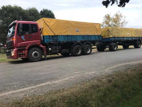 camion foton 290 con zorra
