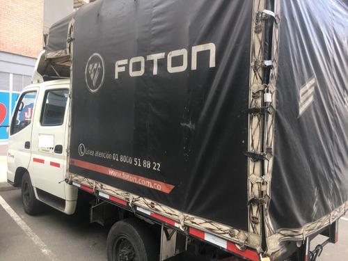 camion foton doble cabina 2014 exelente estado