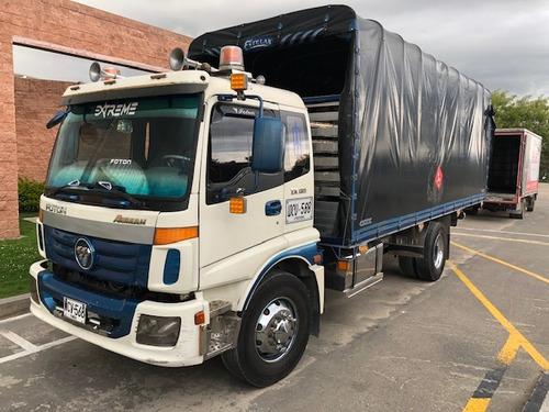 camión foton sencillo con cupo y motor nuevo