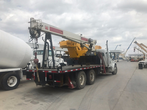 camion freigthlinner ms con grua titan terex de 10 ton
