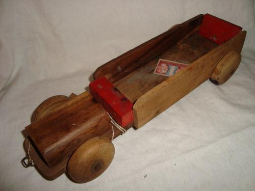 camion fundacion eva peron madera juguete en caballito