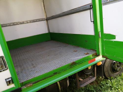 camión furgon effa - 2007 diesel - 8500 kg