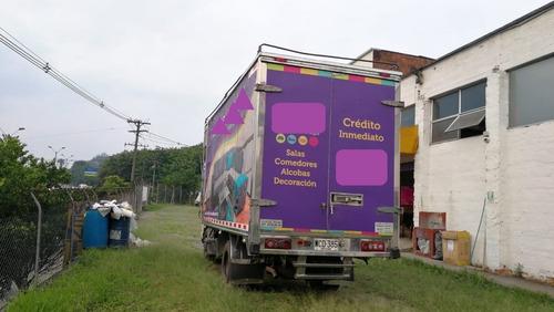 camión furgón jmc  2014