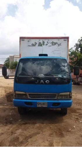 camión furgón marca jac modelo 2007