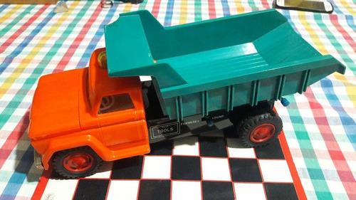 camion gmc de lata y plástico  retrovintage