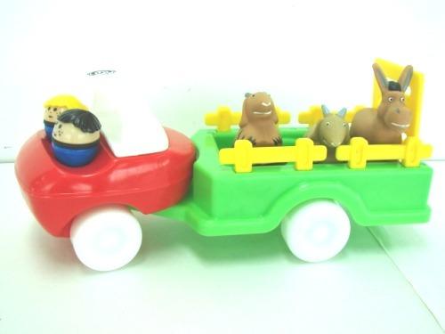 camion granja de transporte animales muñecos palermo z norte