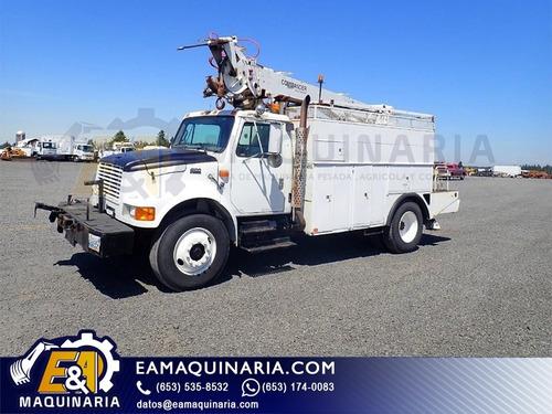 camion grua broca