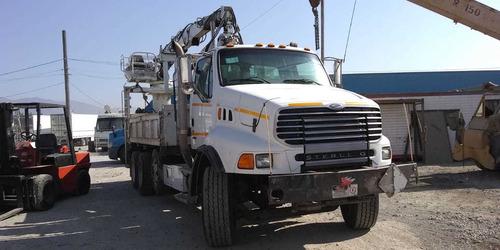 camion grua chatarrera con magneto sterling 2007