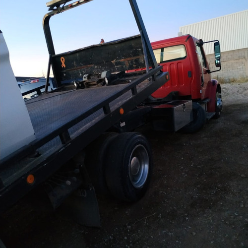 camion grua de plataforma arrastre charola