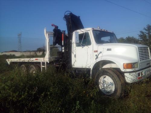 camion grua hiab de 8.5 ton international certificado