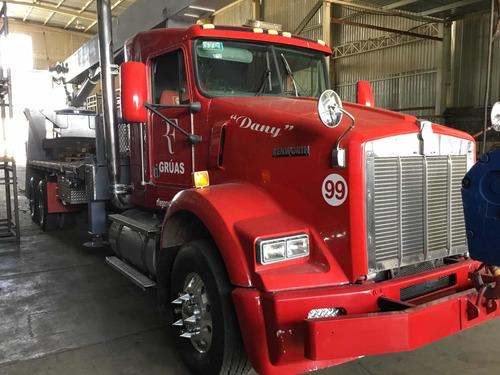 camión grua manitex kenworth t800