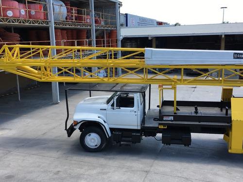 camion grua tipo canastilla 27 mts hi-ranger ford 1996