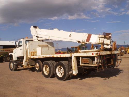 camión grúa titan national 34000 lbs. 98 ft. 6x6 folio 3597