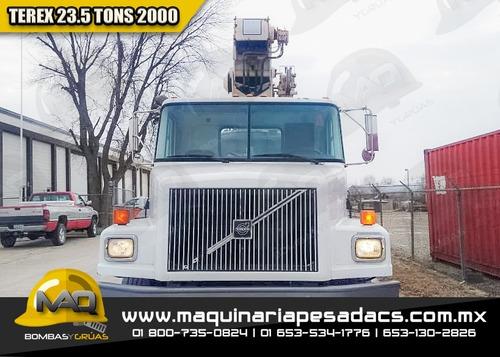 camion grua titan volvo - terex 2000 23.5 tons