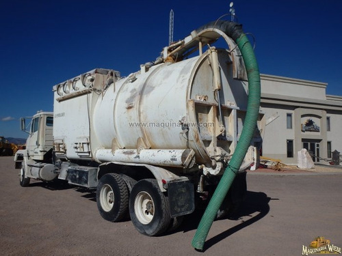 camion guzzler recolector de polvos tipo vactor aspirador dr