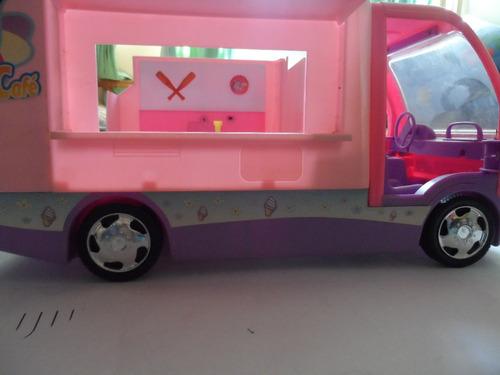 camion heladeria de la barbie