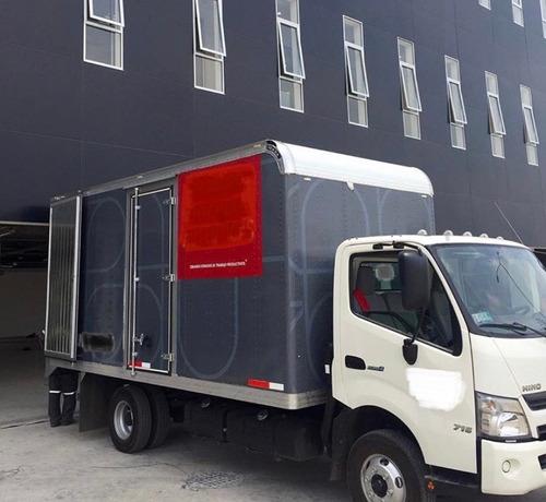 camion hino 716 s300 super long chasis 6.5 tonelas mod 2016