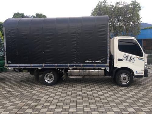 camion hino dutro express  300 carroceria estaca turbo