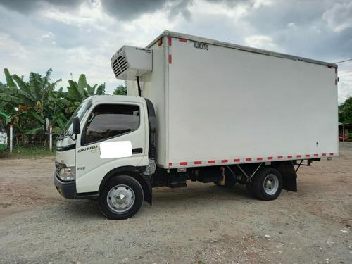 camion hino dutro furgon aislado 2013 con trabajo