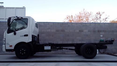 camión hino serie 300 / 716 financiado - chasis 4ton.