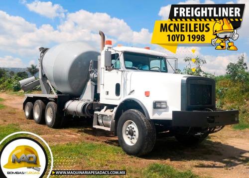 camion hormigonera freightliner - mcneilus 10 yd 1998