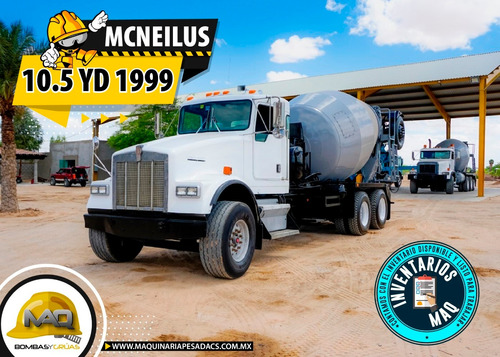 camion hormigonera kenworth - mcneilus 10.5yd 1999