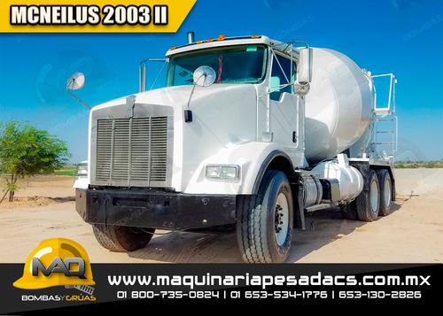 camion hormigonera kenworth - mcneilus 2003, revolvedora
