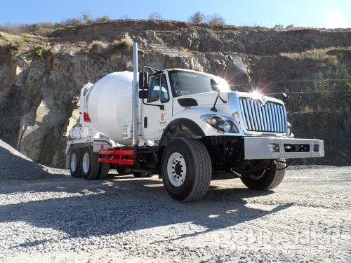 camión hormigonero international 7400 braher equipo btr-800