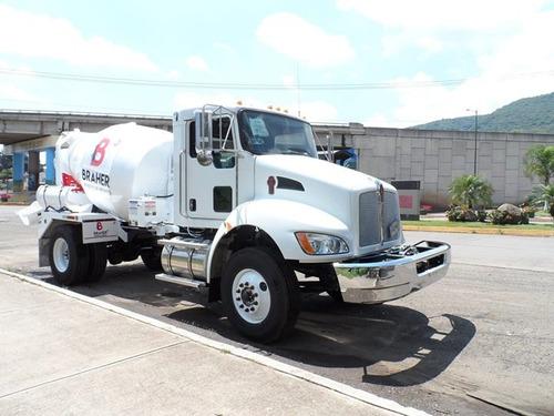 camión hormigonero para mineria minas trompos revolvedores
