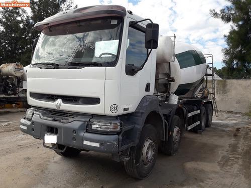 camion hormigonero  renault xerax 370(id472)