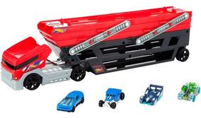 Hot Camión Hauler Carros Wheels Mega Original4 Niñera 6fgb7y