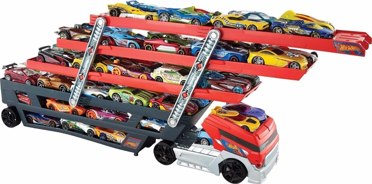 Toy Car Holder Truck : Camión hot wheels mega hauler original importado