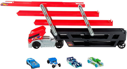 camión hot wheels mega hauler original niñera capacidad 50