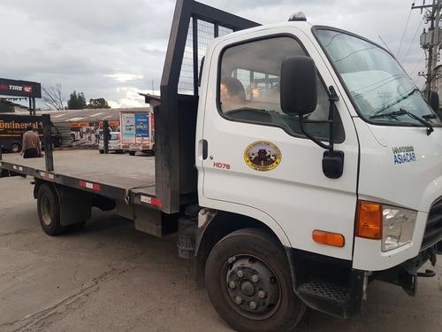 camión hyundai hd78 modelo 2019, más plataforma y permiso