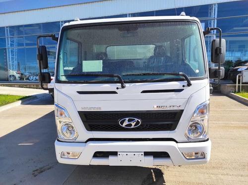camion hyundai new mighty ex8 con volcadora viscazo 4m3